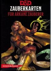 D&D Zauberkarten für arkane Zauberer