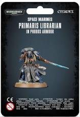 SM Primaris Librarian in Phobos Armour