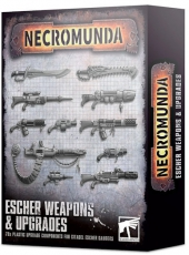 Esher Weapons and Upgrades