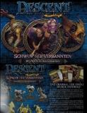 Descent - Schwur der Verbannten Helden- und Monsterset