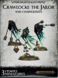 Nighthaunt Crawlocke the Jailor and Chainghasts