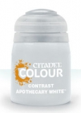 Contrast: Apothecary White