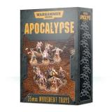 Apokalypse Movement Trays 25mm