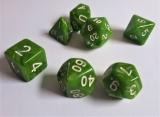 d4f Würfelset Candy Green