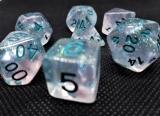 d4f Würfelset Mystic Blue