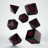 QW Classic Dice Set Black Red