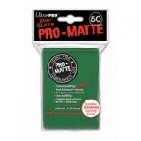 Ultra Pro Matte Sleeves Green