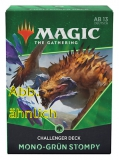 2021 Challenger Deck Mono Green Stompy engl.